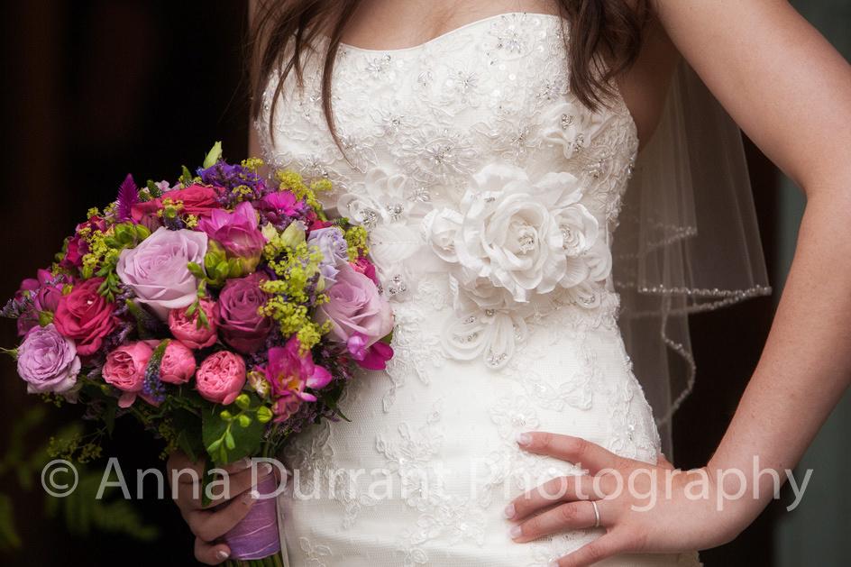 Bridal photography detail