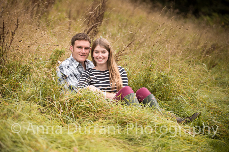 Sitting amonst the long grass near Castle Combe