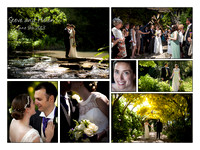 Summer wedding in Abbey House Gardens