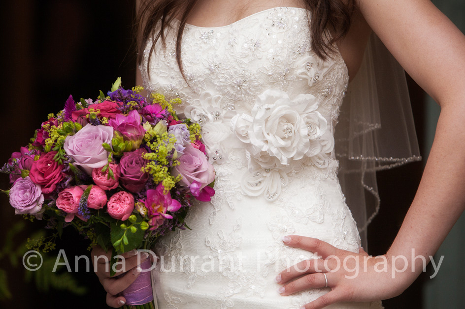 Bridal photography detail