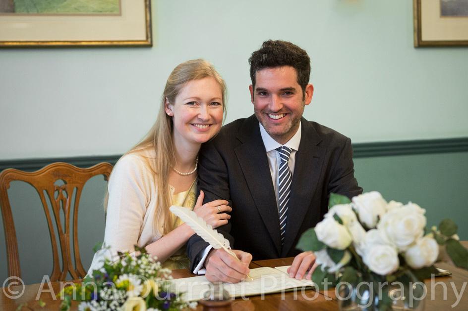 Wedding at Chippenham Register Office