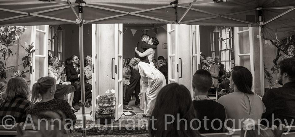 Wedding ceremony in the Minerva Temple