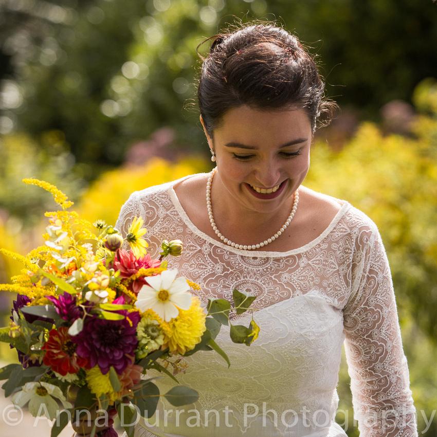 Natural bride photography
