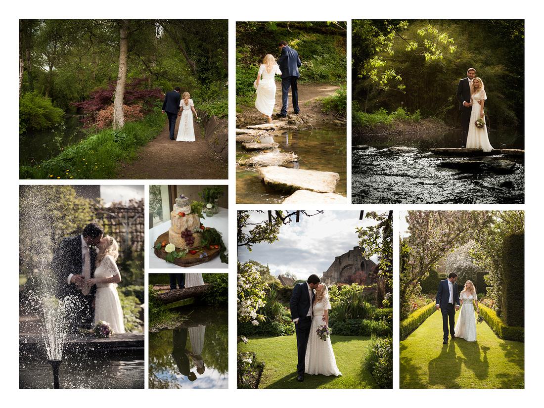 Summer wedding in Malmesbury